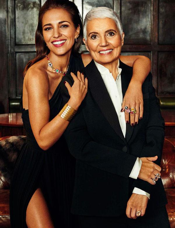 Paula Echevarria y Rosa TOUS