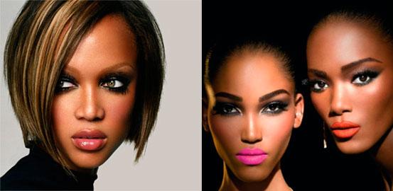maquillaje piel de color